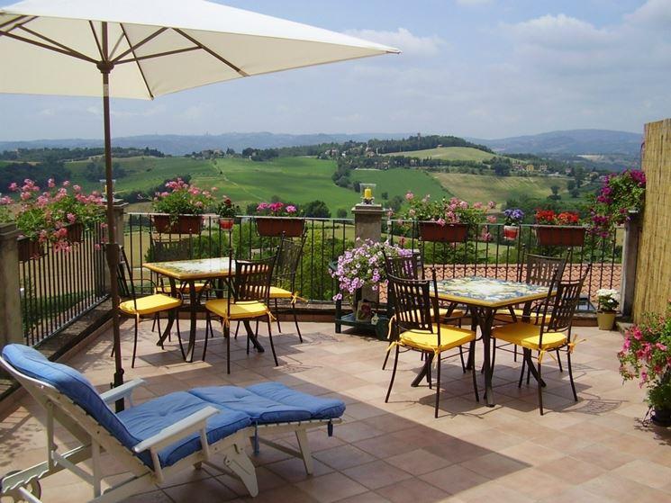 Arredamento terrazzo accessori da esterno arredamento - Arredare terrazzo ikea ...