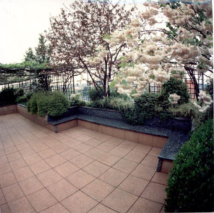 terrazza  senza copertura
