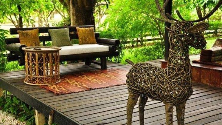 Arredo esterno per giardino accessori da esterno come - Fai da te arredo giardino ...