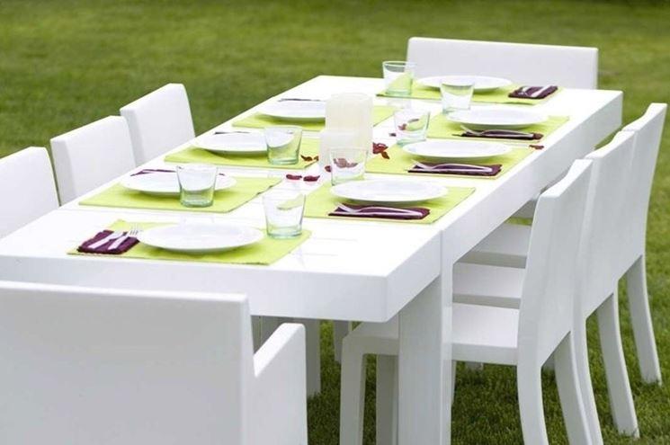 Tavolo Giardino Plastica Bianco.Arredo Giardino In Plastica Accessori Da Esterno Arredo Giardino