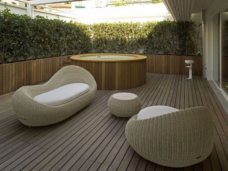 Arredo terrazzi accessori da esterno arredo terrazzi for Arredo giardino terrazzo