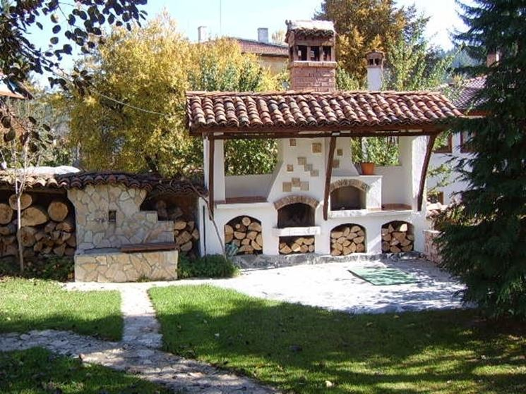 Caminetti da giardino accessori da esterno caminetti for Esterno o externo