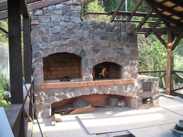 Caminetti da giardino accessori da esterno caminetti da giardino arredamento - Camino per cucinare ...