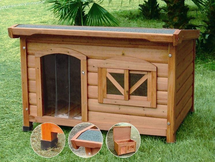 Come costruire una cuccia per cani accessori da esterno for Recinto cani fai da te