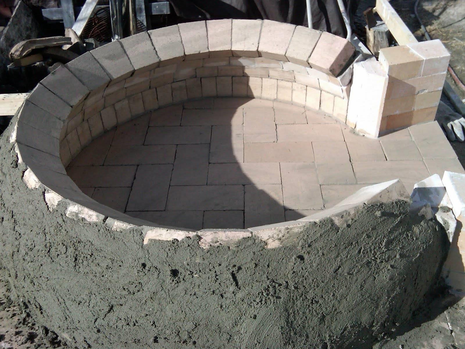 Costruire un forno a legna accessori da esterno for Forno a legna in mattoni refrattari