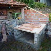 costruire forno a legna economico