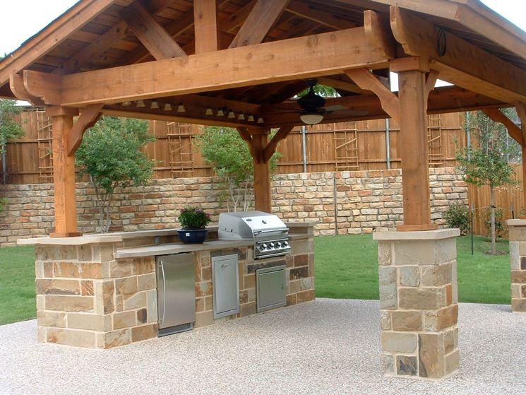 Cucina da esterno - accessori da esterno - Modelli di cucina da esterno
