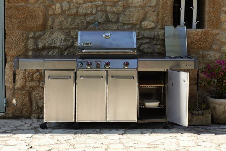 Cucine da esterno accessori da esterno costruire una for Cucine da esterno prefabbricate