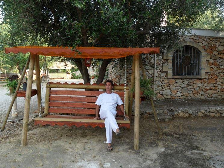 Dondolo Da Giardino In Legno : Dondolo da giardino accessori da esterno caratteristiche del