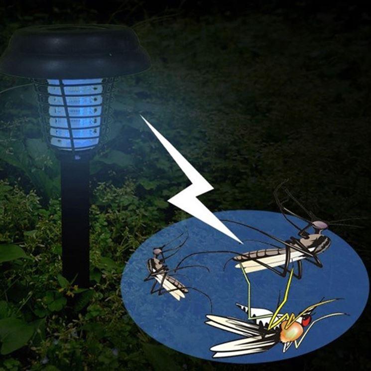 lampada antizanzare