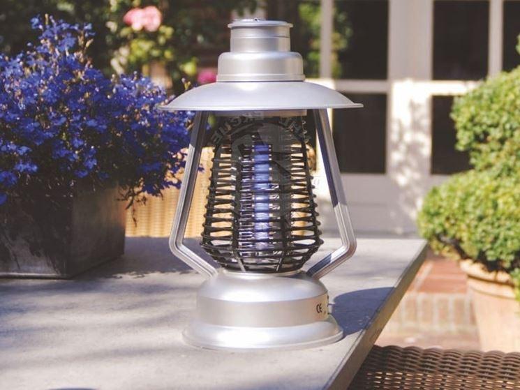 lampada anti zanzara