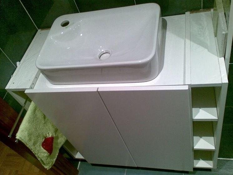 Lavabo da appoggio accessori da esterno for Piano piano fai da te online