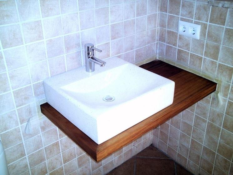 Lavabo da appoggio accessori da esterno for Lavabo da appoggio misure