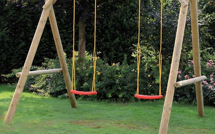 Giochi giardino bambini