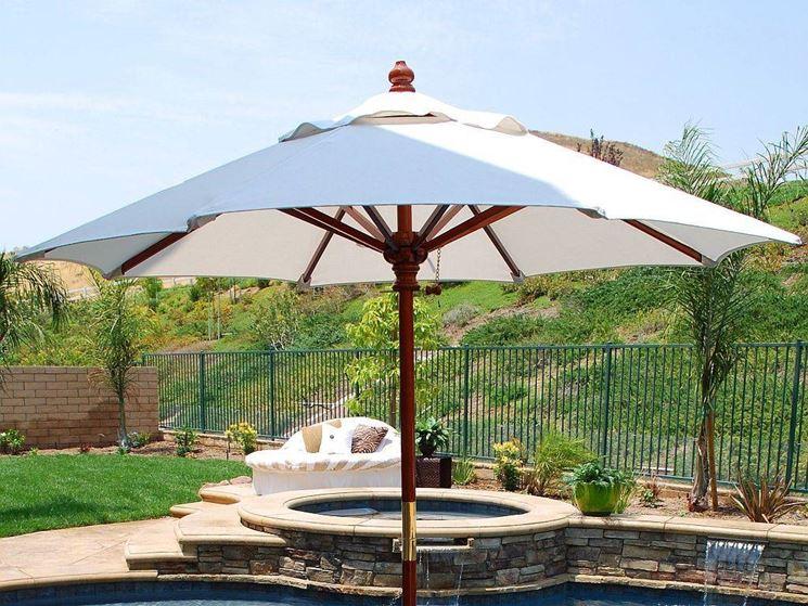 Ombrellone da giardino - accessori da esterno - Ombrelloni da sole ...