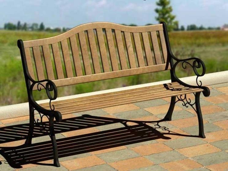 Panchine da giardino accessori da esterno modelli di panchine da giardino - Panchine da giardino ikea ...