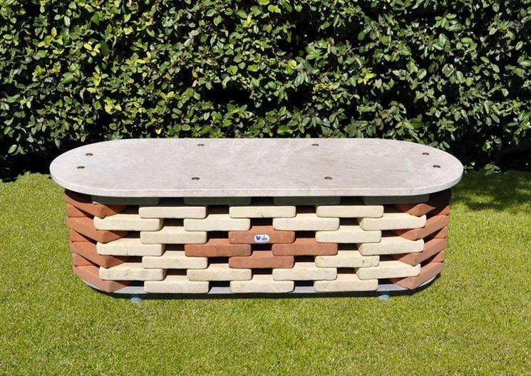 Panchine Da Giardino Fai Da Te : Panchine da giardino accessori da esterno modelli di panchine