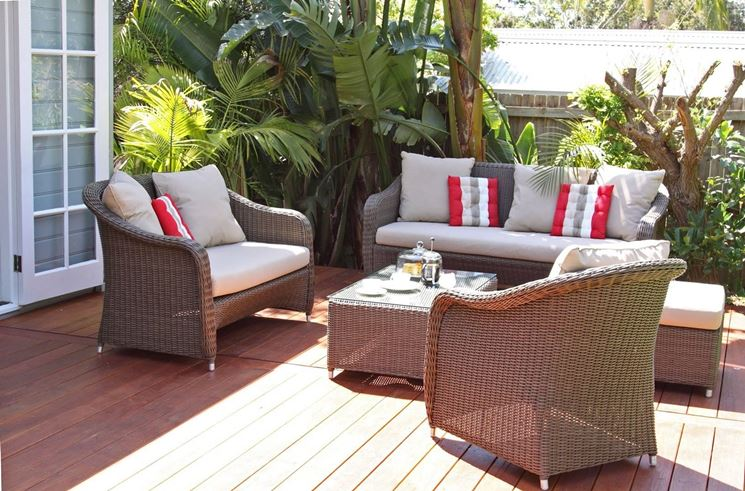 Salotti da esterno accessori da esterno come scegliere e ambientare i salotti da esterno - Salotti da giardino economici ...
