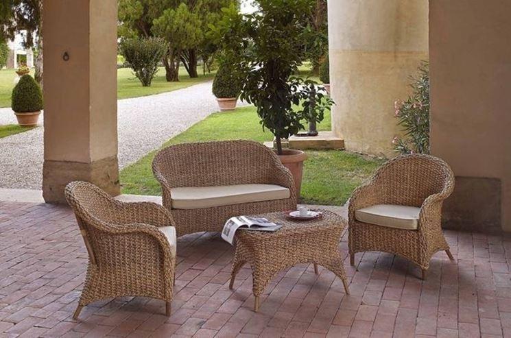 Salotti giardino accessori da esterno arredo per un for Salottini da esterno offerte