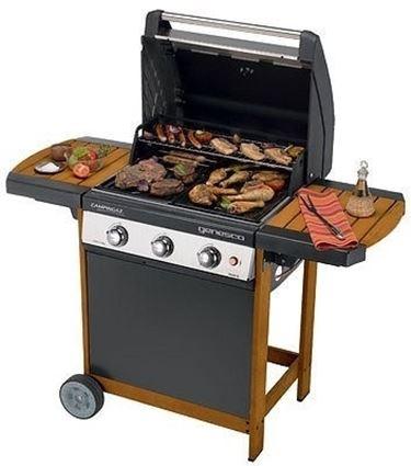IL barbecue con pietra lavica