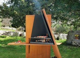 Barbecue pietra lavica