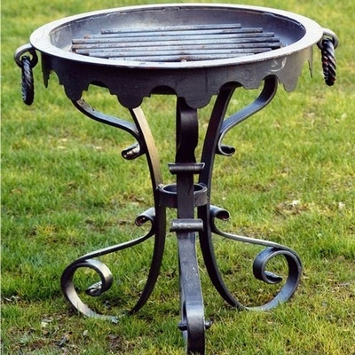 Braciere barbecue come funziona un braciere - Braciere da esterno ...