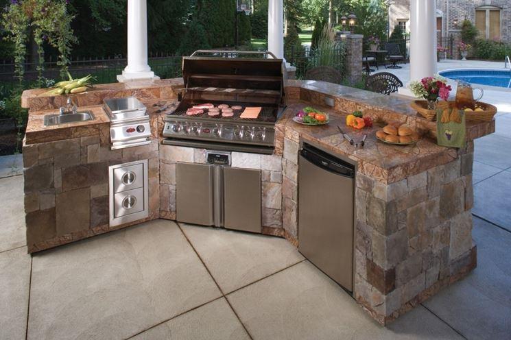 Caratteristiche del barbecue in muratura - barbecue - Tipi barbecue