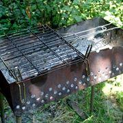 Barbecue in metallo artigianale