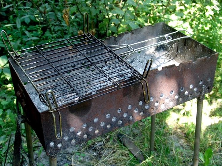 Come Costruire Un Barbecue In Ferro Barbecue Barbecue In Ferro