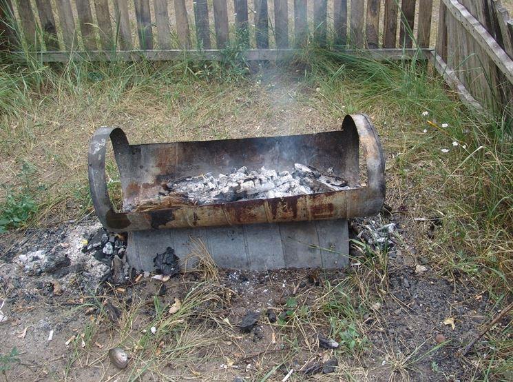 Come costruire un barbecue in ferro barbecue barbecue - Come si progetta un giardino ...