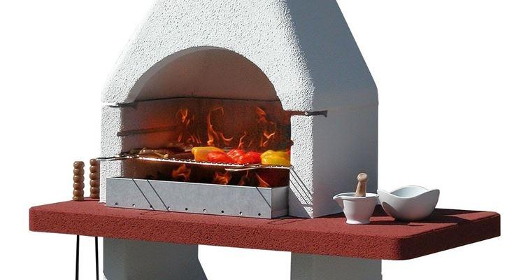 Barbecue in muratura dalla semplice fattura