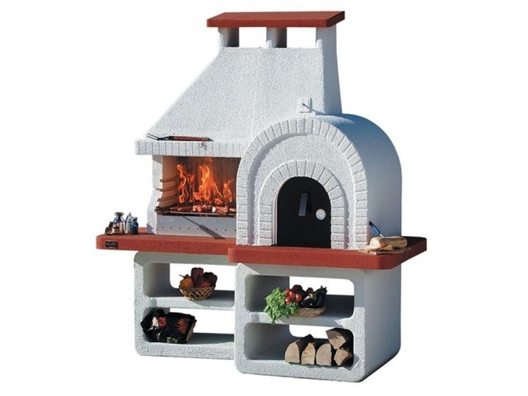 Costruire barbecue in muratura barbecue barbecue in - Barbecue in muratura con forno a legna ...