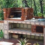 Barbacue in muratura