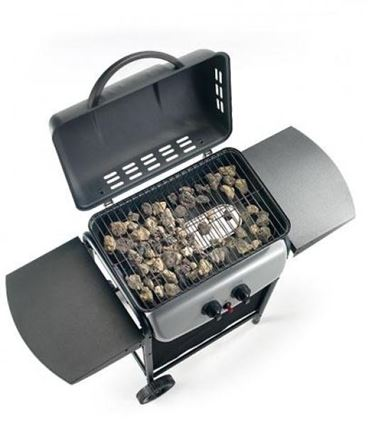 Barbecue a gas in pietra lavica