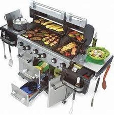 Vendita di barbecue a legna