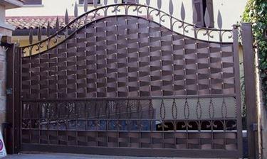 cancello acciaio