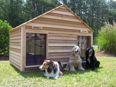 Casette per cani casette da giardino casette per cani for Animali da giardino finti