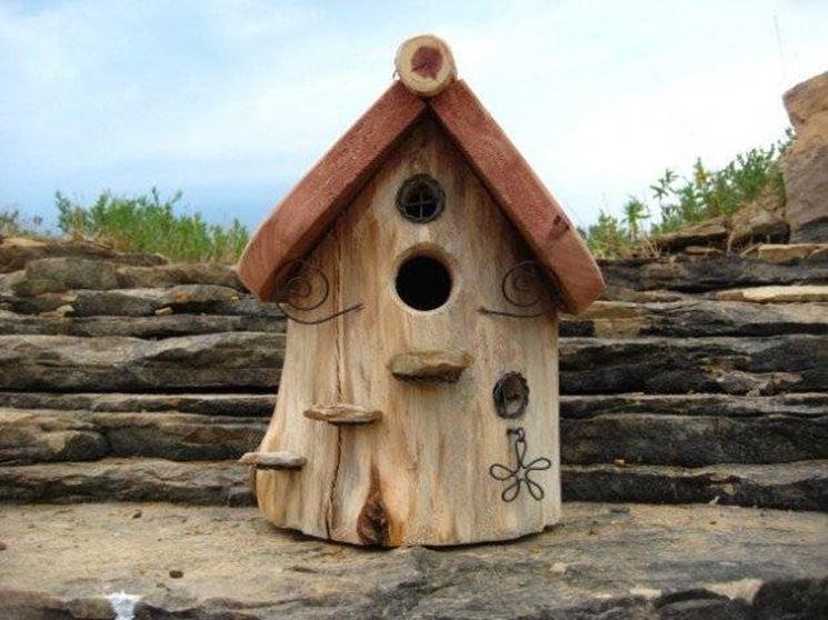 Popolare Casette per uccelli - casette da giardino - Come realizzare  FY82