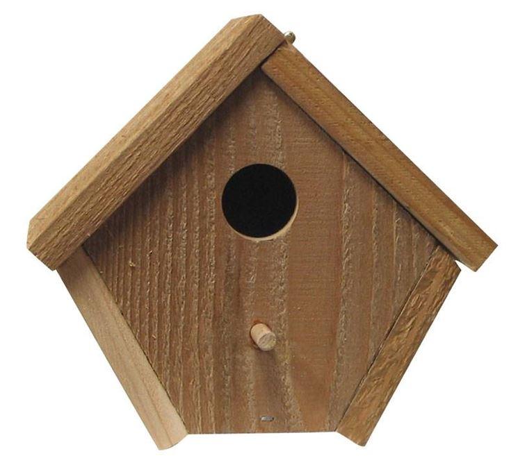 Conosciuto Casette per uccelli - casette da giardino - Come realizzare  IC52