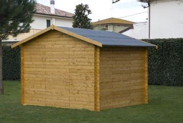 casetta per giardino in legno