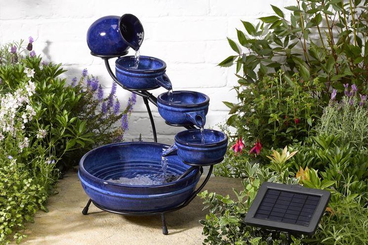Esempio di fontana zen