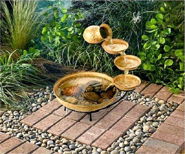 Esempio fontana solare zen