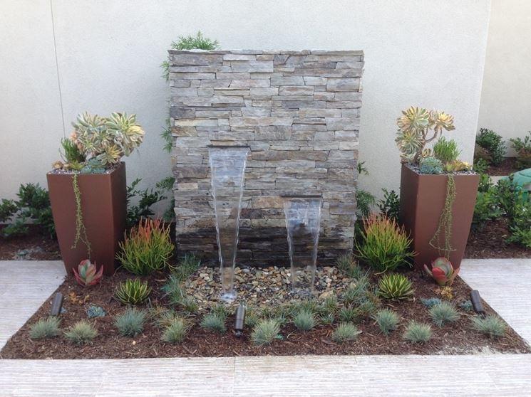 Fontane a muro fontane tipologie di fontane a muro - Fontane a muro da giardino ...