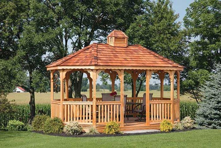Come costruire un gazebo in legno gazebo costruire un for Come costruire un tetto su un piano di coperta
