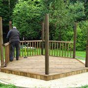 costruire un gazebo in legno