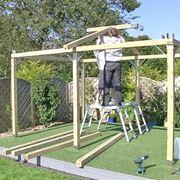costruire un gazebo