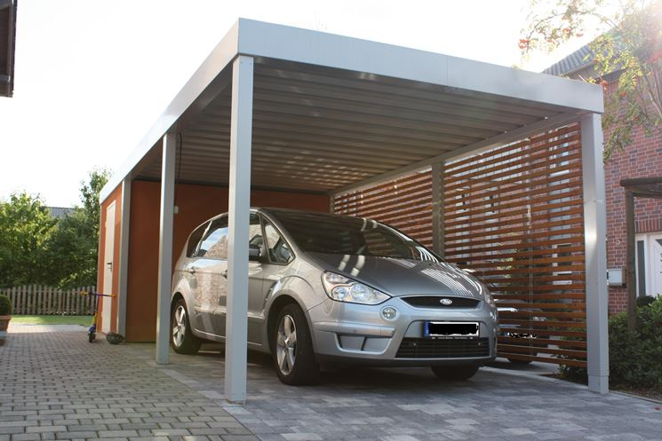 Gazebo monoposto per automobile