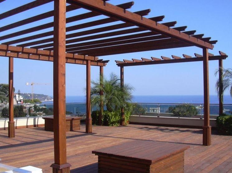 giardino moderno con pergola : Gazebo fai da te - gazebo - Gazebo fai da te - arredamento