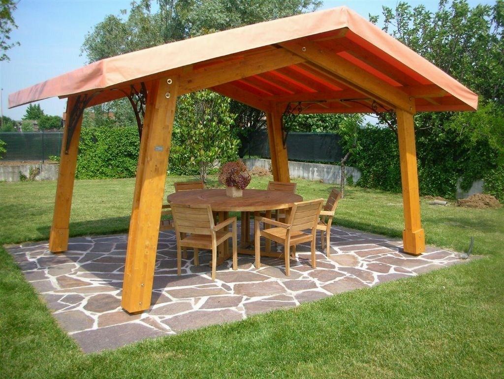 Gazebo in legno da giardino gazebo gabezo per giardino - Legno per giardino ...