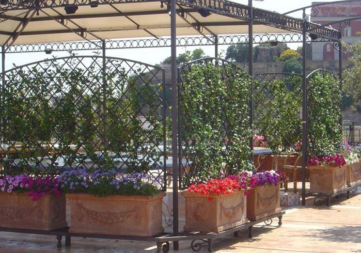 Casa immobiliare accessori gazebo per giardini for Fioriere in legno obi